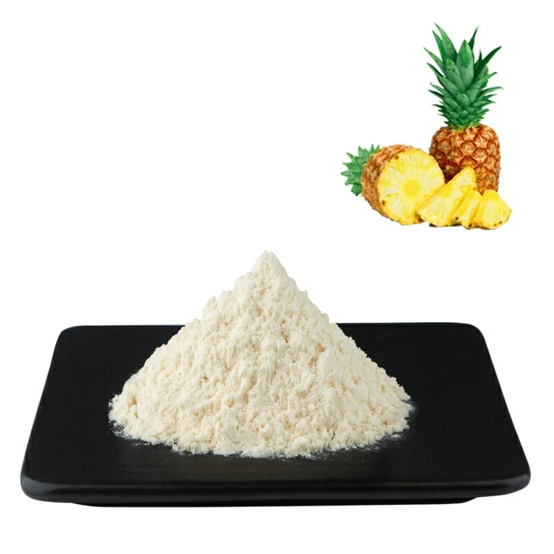 Pure Natural Bromelain Enzyme Powder Enzymatic Activity 200000u/g In Bulk