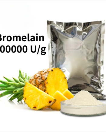Bromelain 600000 U/g Pineapple Enzyme Protein Hydrolysis Biological Enzyme Preparation