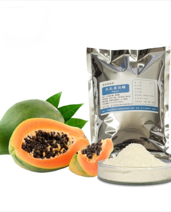 Papain 1.5 Million U/g High Enzyme Activity For Plant Protein Hydrolysis Food Grade